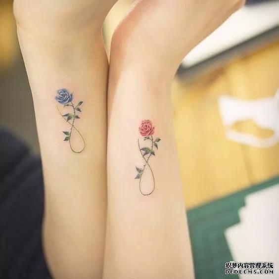 闺蜜小清新纹身图案         锁骨樱花纹身图案 收藏 挑错